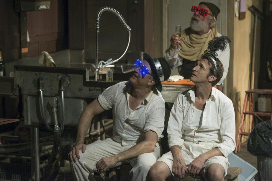 La pièce Les dishwasheurs est portée à bout... (Photo: fournie par la production)