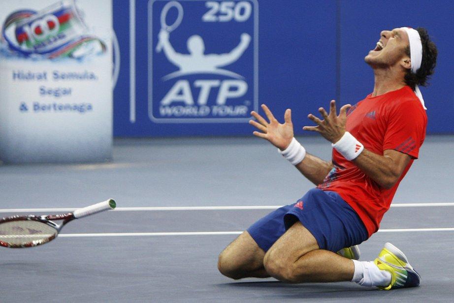 Juan Monaco a remporté le tournoi de Kuala... (Photo: AP)