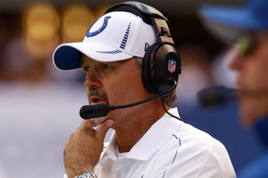 L'entraîneur des Colts d'Indianapolis, Chuck Pagano.... (Photo: Reuters)