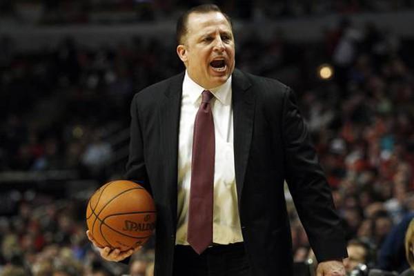 L'entraîneur des Bulls de Chicago, Tom Thibodeau.... (Photo: Reuters)