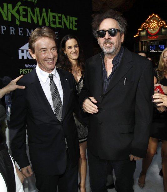 Martin Short et Tim Burton | 1 octobre 2012