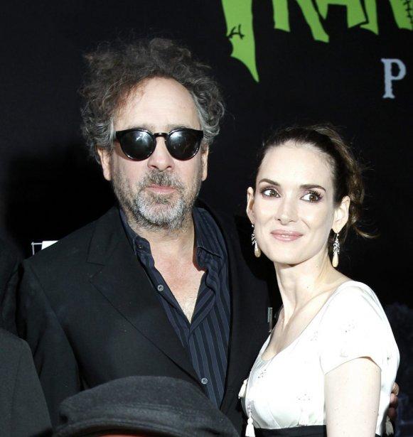 Tim Burton et Winona Ryder | 1 octobre 2012