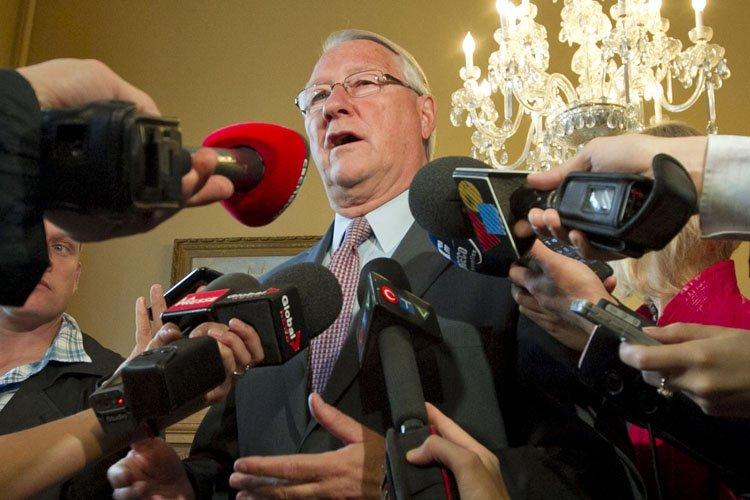 Le maire Tremblay a assuré avoir «la conscience... (Photo: Hugo-Sébastien Aubert, La Presse)