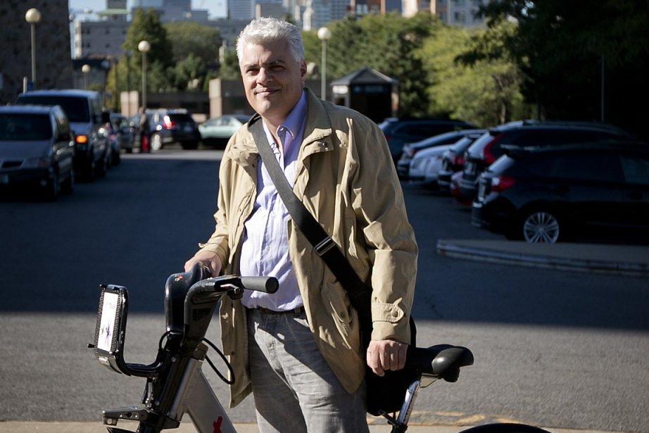 Philippe Marcoux... (Photo: Marco Campanozzi, La Presse)