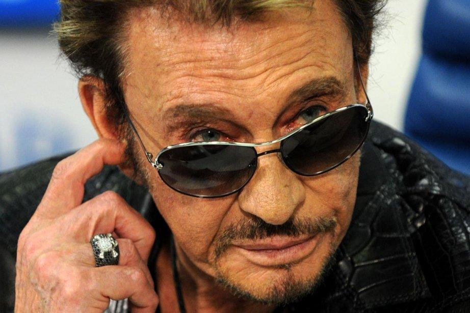 Johnny Hallyday donnera cet automne des concerts au... (Photo: AFP)