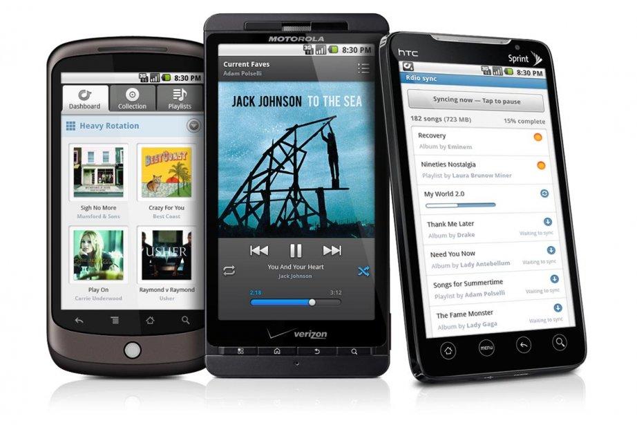 Les services d'écoute de musique en ligne comme... (Photo:  archives La Presse)