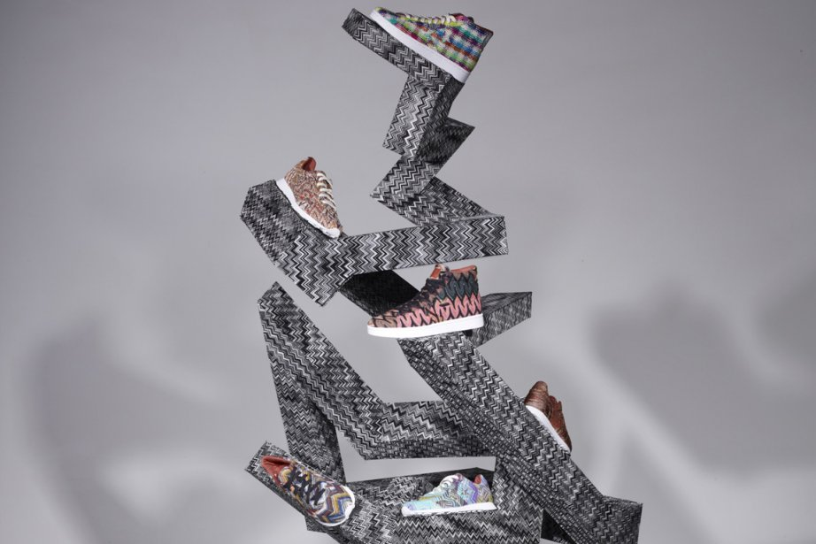 Les modèles imaginés par Converse et Missoni, présentés... (Photo: Converse / Missoni)