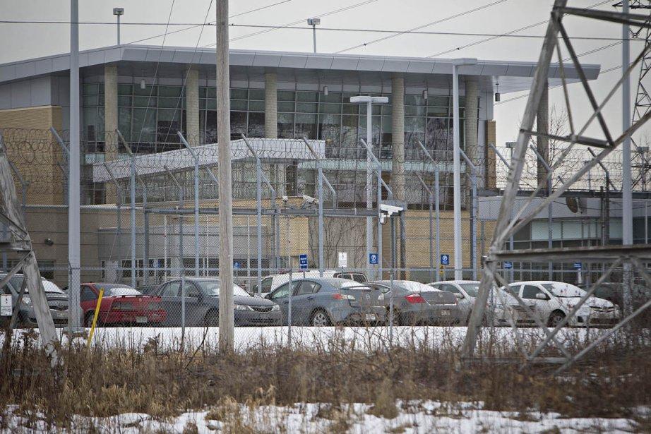 Un détenu de la prison de Rivière-des-Prairies est... (Photo: Patrick Sanfaçon, Archives La Presse)