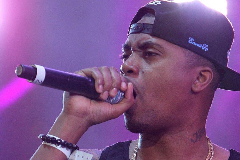 Le rappeur américain Nas... (Photo: AP)