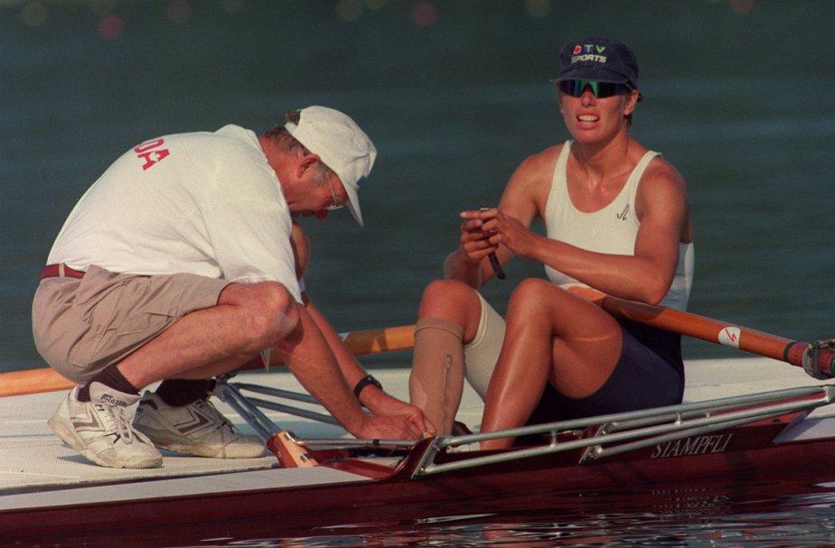 La triple médaillée olympique Silken Laumann.... (Photo: Ron Poling, PC)