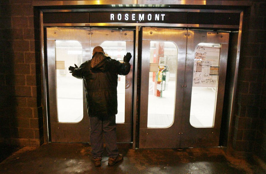 «Dans le métro, explique le photographe de La Presse Édouard...