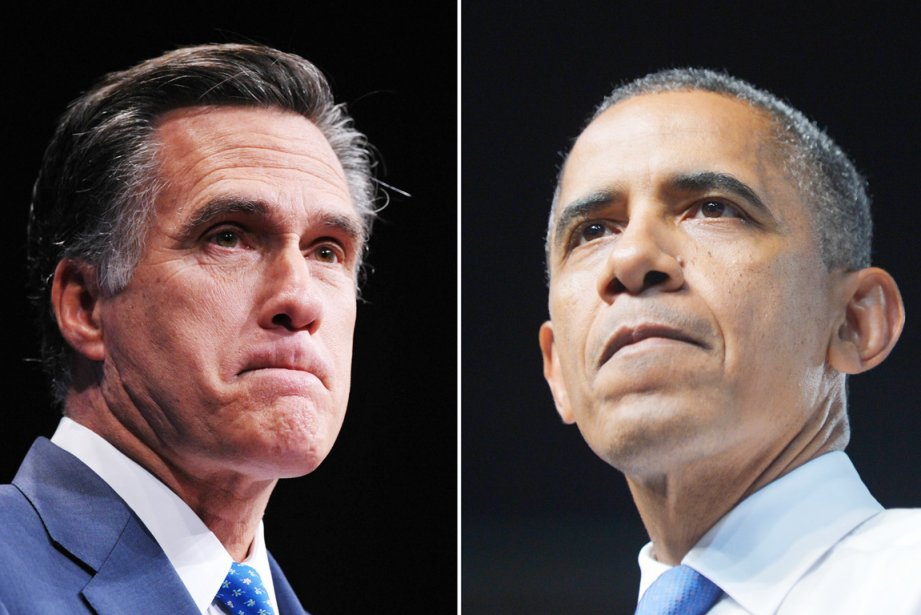 L'aspirant républicain à la Maison-Blanche, Mitt Romney (à... (PHOTOS MANDEL NGAN, AFP)