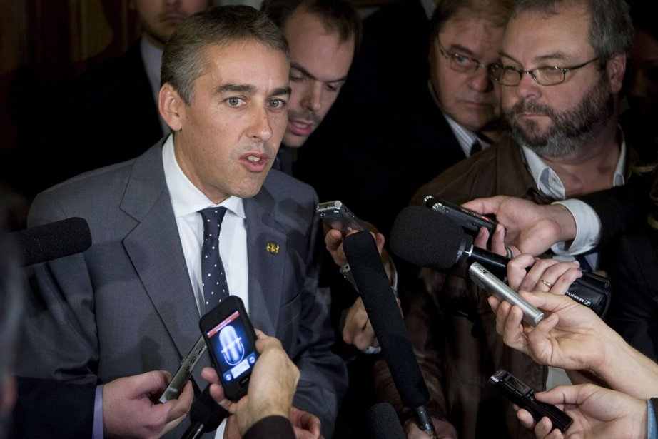 Le ministre des Finances, Nicolas Marceau.... (Photo: Jacques Boissinot, La Presse Canadienne)