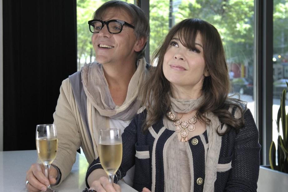 Étienne et Sandrine Maxou divisent l'opinion des téléspectateurs.... (Photo: fournie par Télé-Québec)
