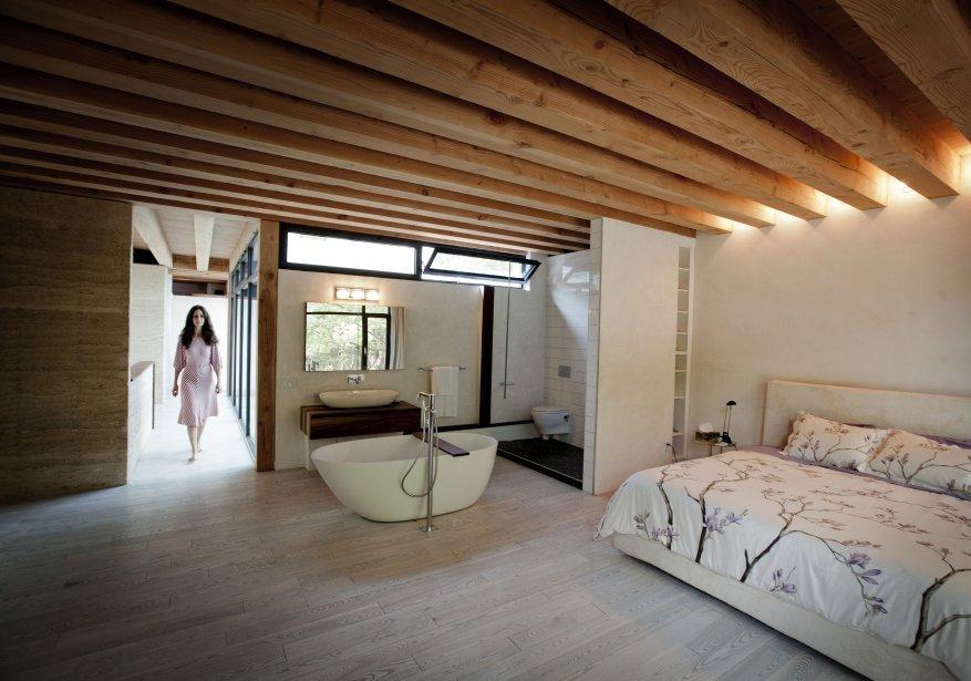 De chanvre et de lumi re - Lit plafond electrique ...