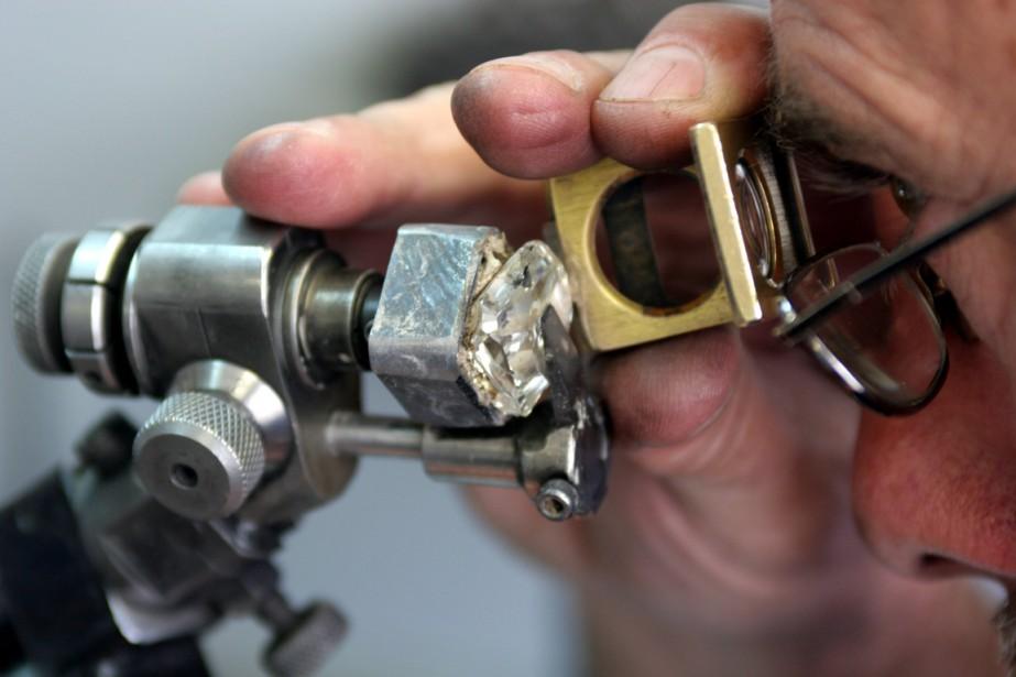 Le Botswana est le deuxième producteur de diamants... (Photo Associated Press)