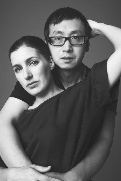 Le couple de designers montréalais de l?heure, Danielle Martin et Pao Lim, créateurs de la griffe Martin Lim | 3 octobre 2012