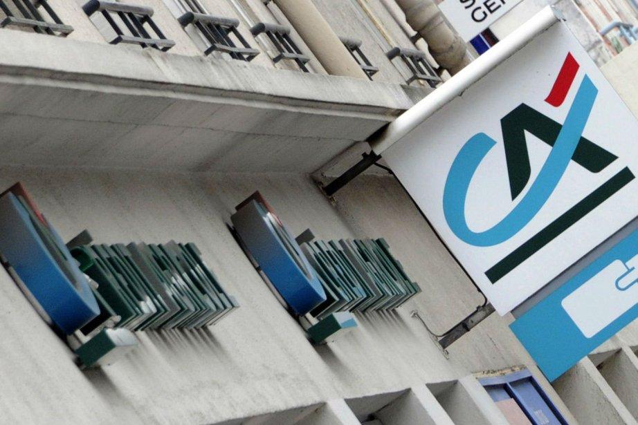 Le Crédit Agricole, en France, est la plus... (Photo archives AFP)