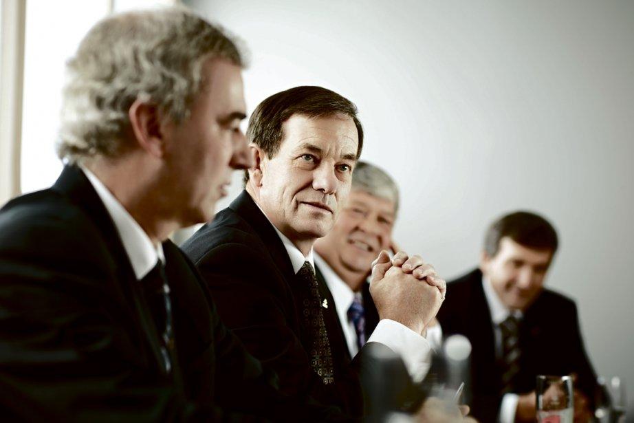 Serge Riendeau, président d'Agropur... (Photo fournie par Agropur)
