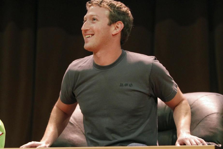 Mark Zuckerberg... (Photo Reuters)