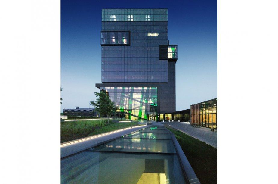 Le nouveau campus de l'Université de Sherbrooke à... (Photo Marc Cramer)