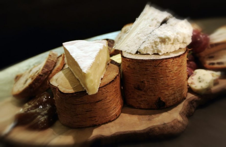 Des fromages servis au restaurant 116 Crown. | 4 octobre 2012