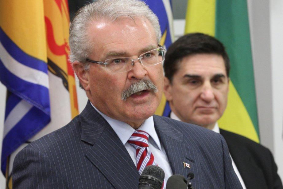 Le ministre fédéral de l'Agriculture, Gerry Ritz (à... (La Presse Canadienne)