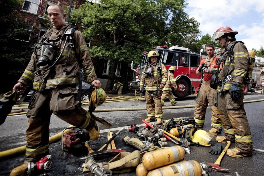 De 2004 à 2011, le nombre d'incendies suspects... (Photo: Marco Campanozzi, La Presse)