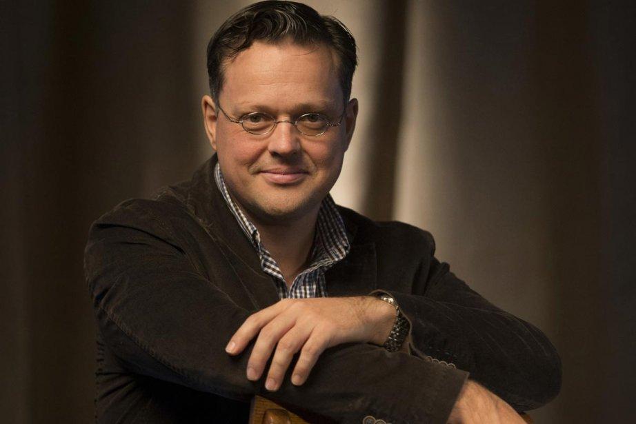 L'écrivain Éric Dupont... (Photo: Ivanoh Demers, La Presse)