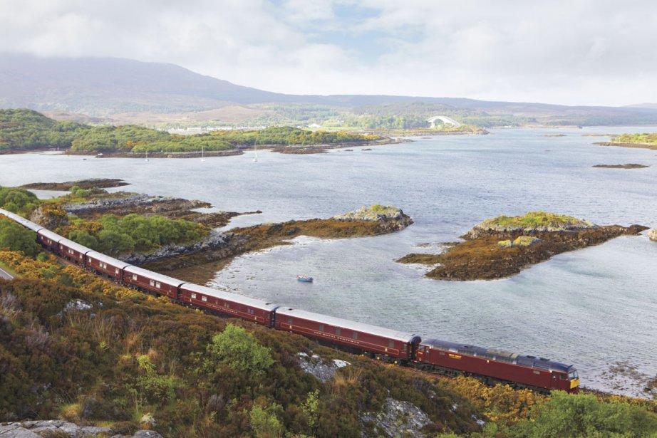 Le train Royal Scotsman permet de découvrir les... (Photo : fournie par Orient Express)