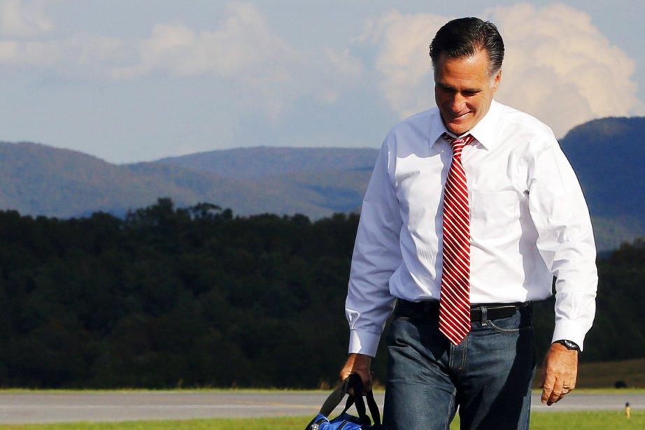Le candidat républicain à la Maison-Blanche Mitt Romney... (PHOTO BRIAN SNYDER, REUTERS)
