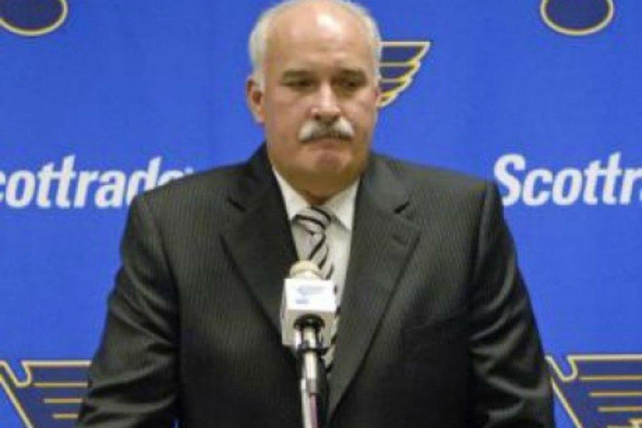 John Davidson a passé les six dernières saisons... (Photo Associated Press)