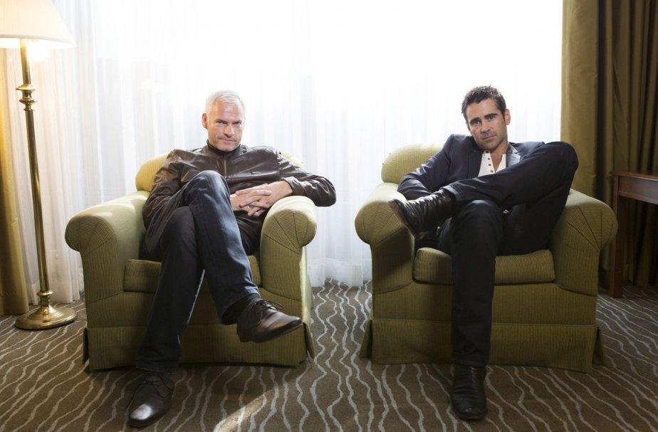 Martin McDonagh et Colin Farrell.... (Photo: Chris Young, PC)