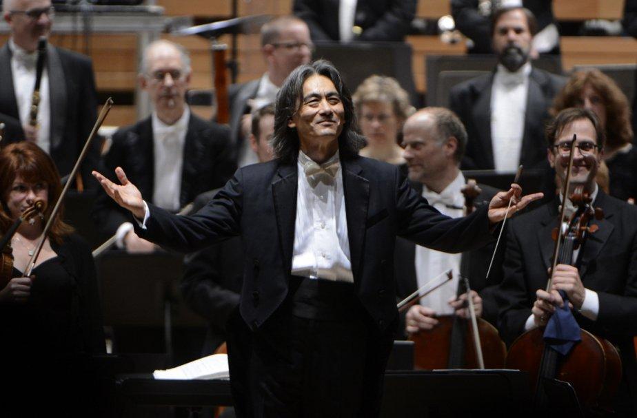 Le chef d'orchestre de l'OSM, Kent Nagano.... (Photo: Bernard Brault, La Presse)