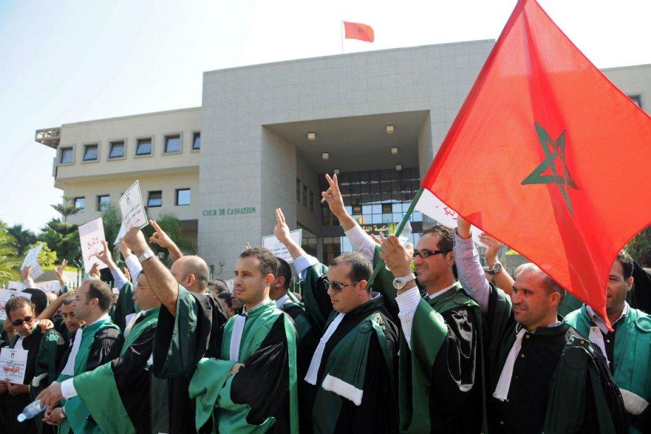 Au dire de Nazik Bekkal, un juge du... (Photo Abdelhak Senna, Agence France-Presse)
