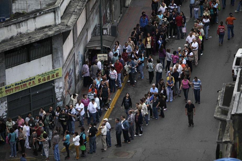 Près de 19 millions de Vénézuéliens sont appelés... (Photo: AP)