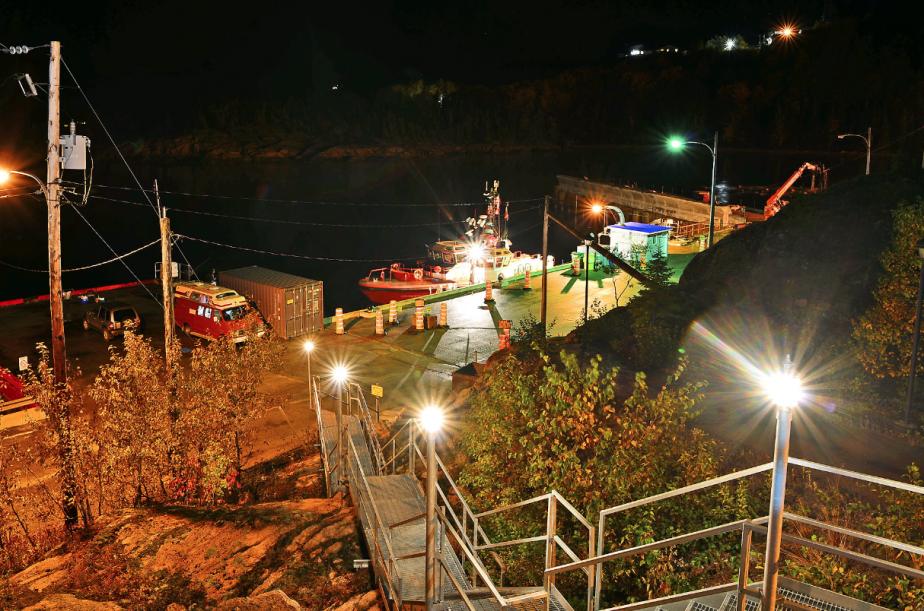 À cause de la météo chancelante et de la congestion maritime sur le Saint-Laurent, le Kruzenshtern a pris un peu de retard. | 7 octobre 2012