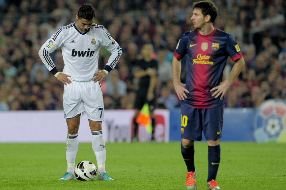 Cristiano Ronaldo et Lionel Messi.... (Photo Josep Lago, Agence France-Presse)