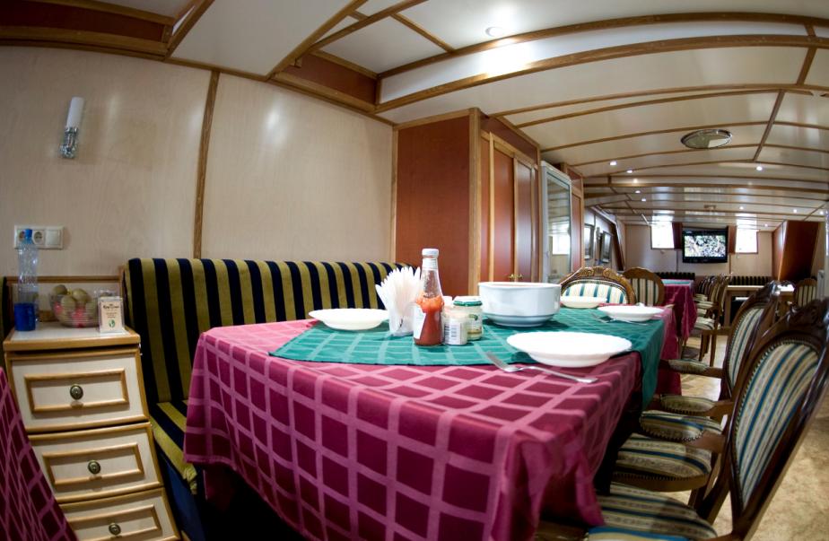 L'intérieur du voilier russe Kruzenshtern | 7 octobre 2012