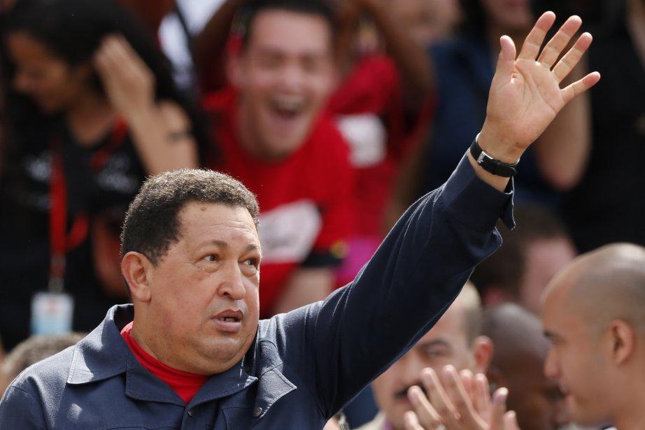 Le président sortant Hugo Chavez a été réélu... (Photo Reuters)