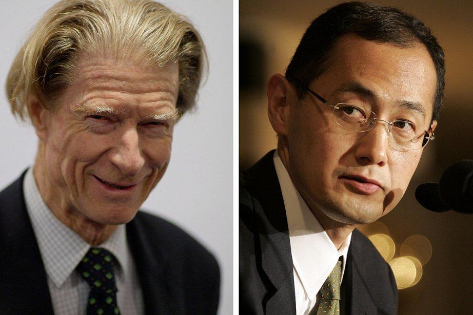 Le biologiste John Gurdon et le médecin et... (Photo: AFP)