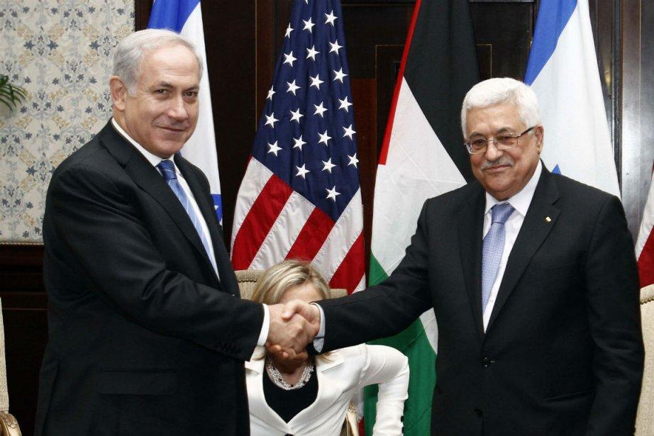 Le premier ministre israélien Benyamin Netanyahou et le... (Photo Reuters)