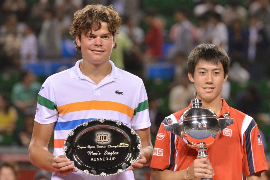 Finaliste au tournoi de Tokyo, Milos Raonic (à... (Photo: AFP)
