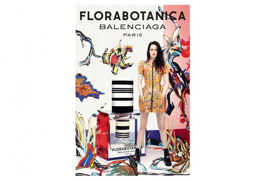 Kristen Stewart, égérie du parfum Florabotanica de Balenciaga.... (Photo: Balenciaga)