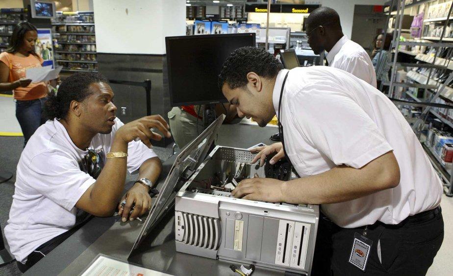 L'emploi ne manque pas dans le domaine de... (PHOTO BLOOMBERG NEWS)