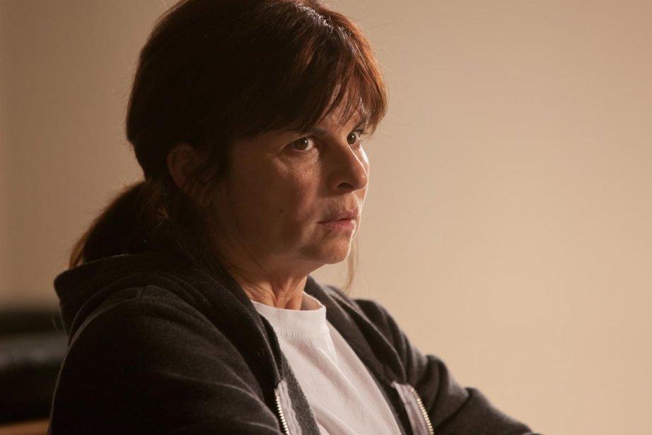 Guylaine Tremblay incarne Marie dans Unité 9 à... (Photo: fournie par Radio-Canada)