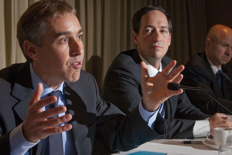 Le ministre des Finances, Nicolas Marceau.... (Photo: André Pichette, La Presse)