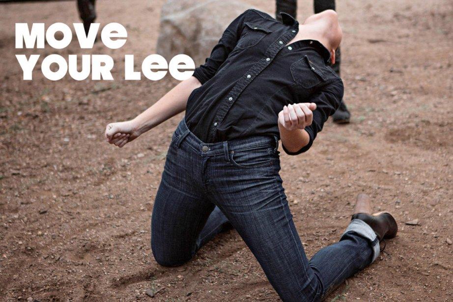 Move Your Lee, la nouvelle campagne de jeans... (Photo: courtoisie de Lee)