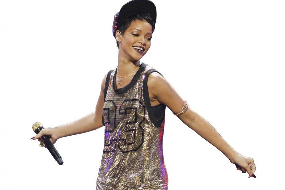 Rihanna... (Photo: Reuters)