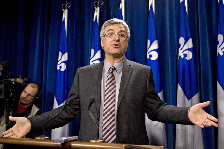 Le chef intérimaire du Parti libéral du Québec,... (Photo La Presse Canadienne)